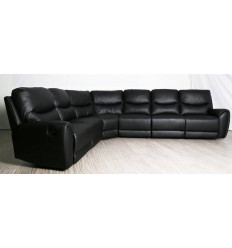 Albany 6 Seater Corner Modular with 4 Recliners
