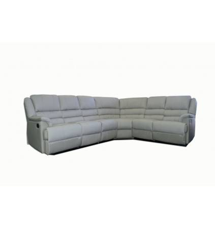 Ella Corner 6 Seater with Recliners in Leather
