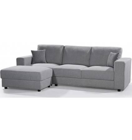 PL-48 Corner Sofa Plastic Legs LHF