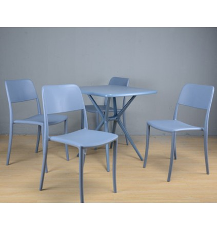 Dining Room Plastic Chair (4 Pcs)