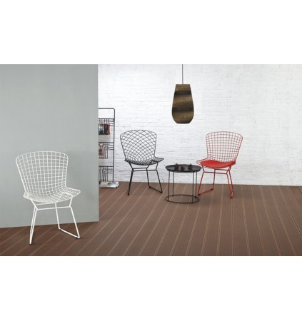 Dining Chair in Industrial Wire Metal (4 Pcs)