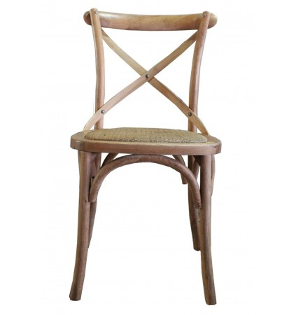 X Back Chair Natural