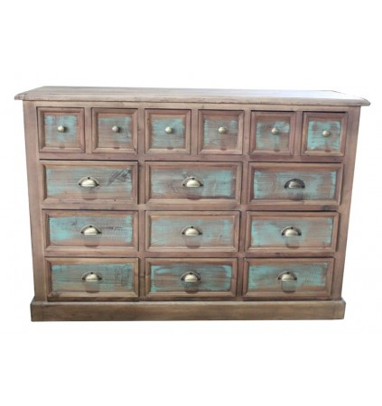 Buffet Chest with CD Storage Cabinet