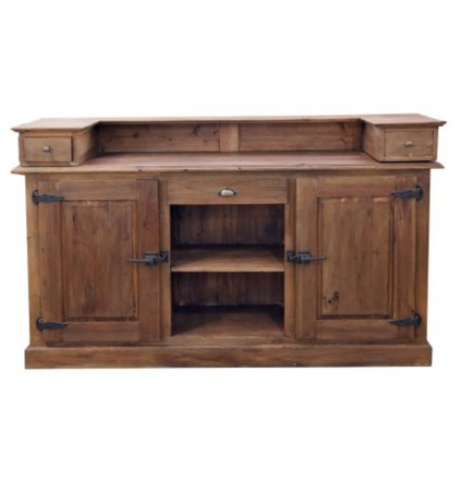 Bar Unit with Cupboard Doors