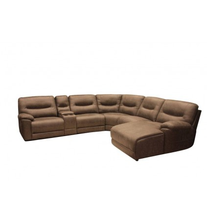 Amart Corner Modular with Electric Recliner and Chaise