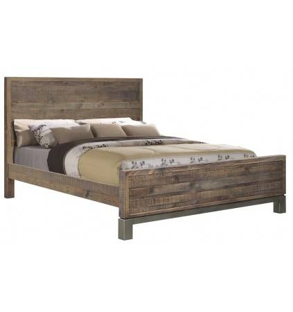Sheffield Queen Bed, incl. Slats with Central Supportss
