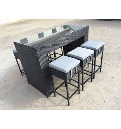 Dunsborough Outdoor Bar Set