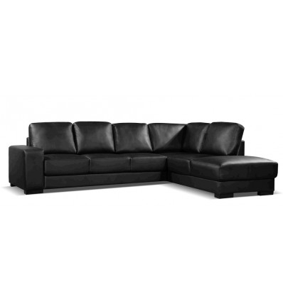 Boston 4 Seater Chaise Sofa in Air Leather