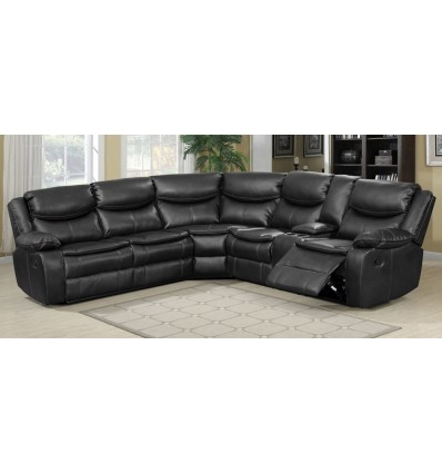 Kelliwood Sectional Recliner Sofa Set withConsole