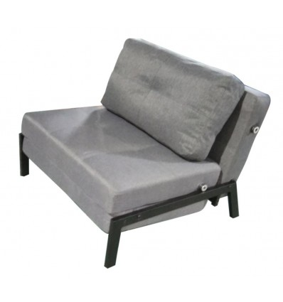 Single Sofa that Converts to Sleep Sofa with Fabric Cover