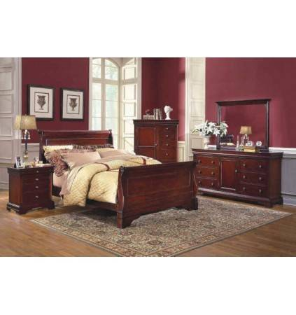 Versailles Queen Bed with Slats
