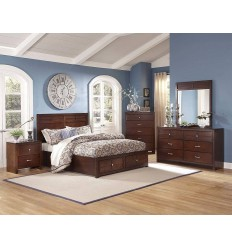 Kensington Queen Bed with Slats