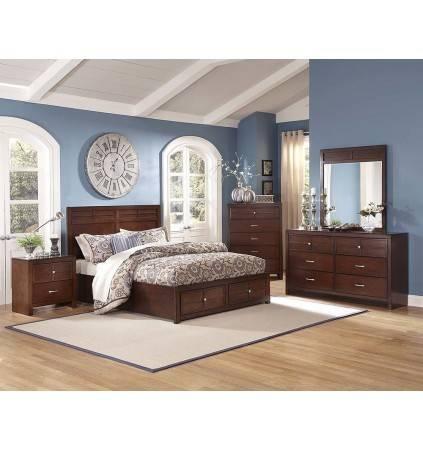 Kensington Queen Bed with Slats