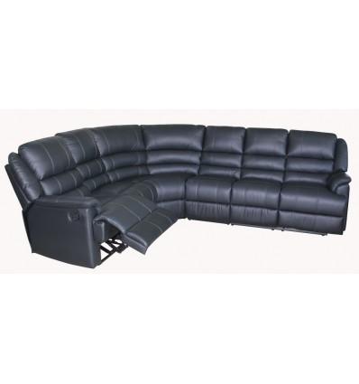 Ella corner 6 Seater in Leather