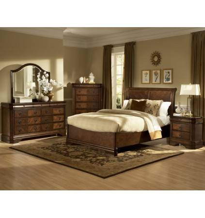 Sheridan Queen Bed with Slats