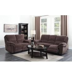 Upholstered Bedside 2DRW