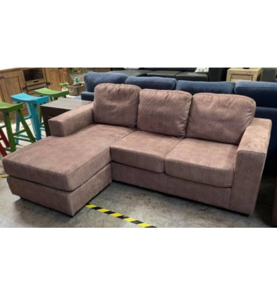 Bondi 3 Seater Chaise with Reversable Ottoman