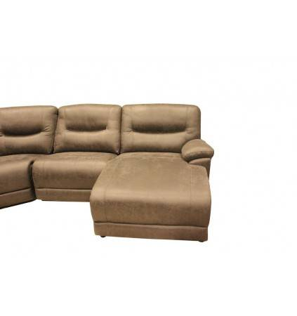 Amart Corner Modular with Electric Recliner LHF and Chaise RHF