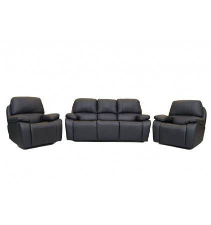 Exit Full Motion Suite Covered in Air Leather