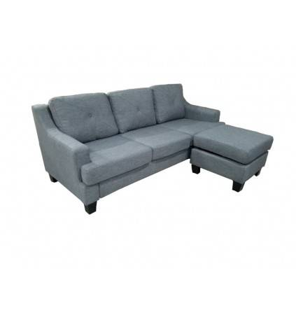 Travis 3 Seater Sofa with Ottoman