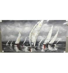 80X160 (CM) 100% Oil Painting