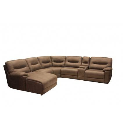 Amart Corner Modular with Electric Recliner RHF and Chaise LHF